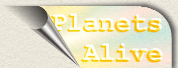 Planets Alive button