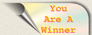 You Are A Winner button